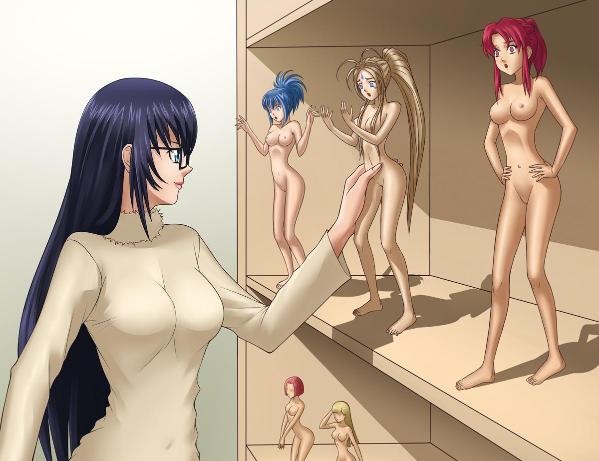 Shrinking Woman Hentai