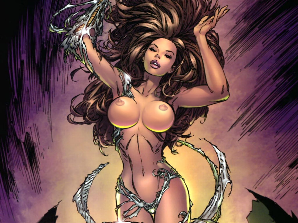 Witchblade comic art