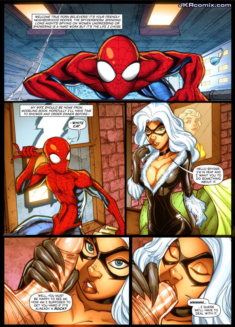 Spider man toon xxx wallpapers adult scenes
