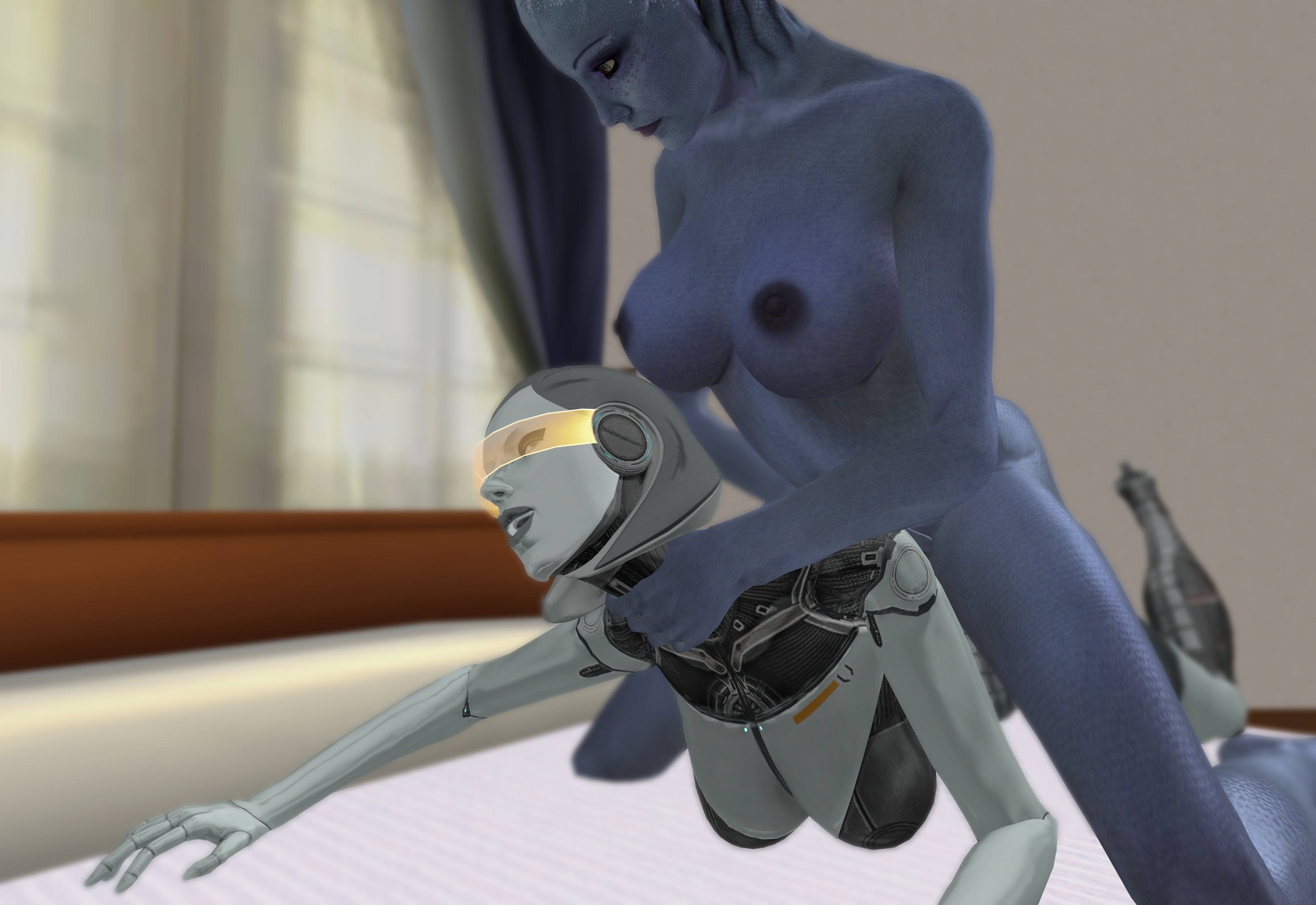Mass effect henti nude videos