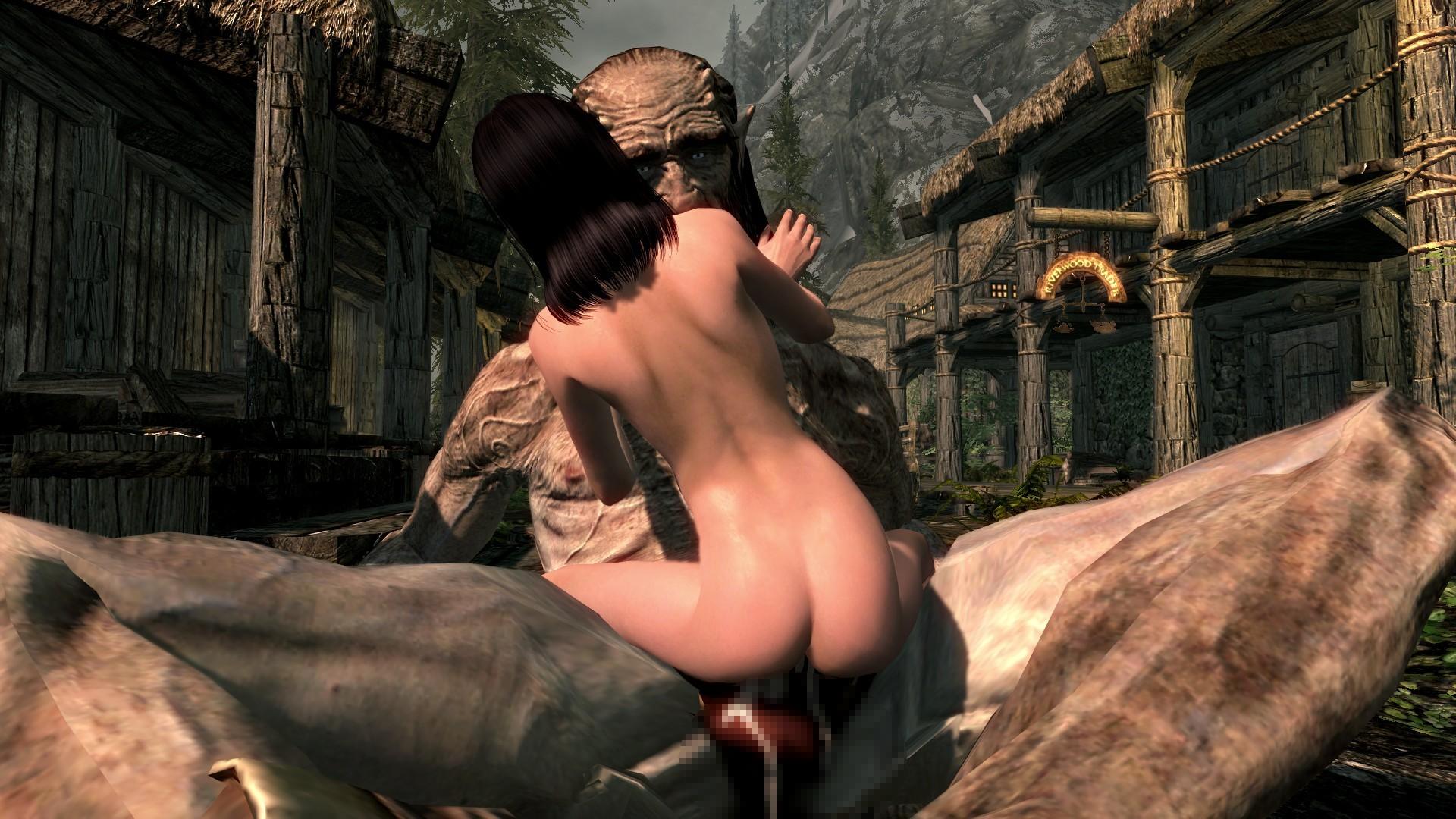 Скайрим Секс Без Мода