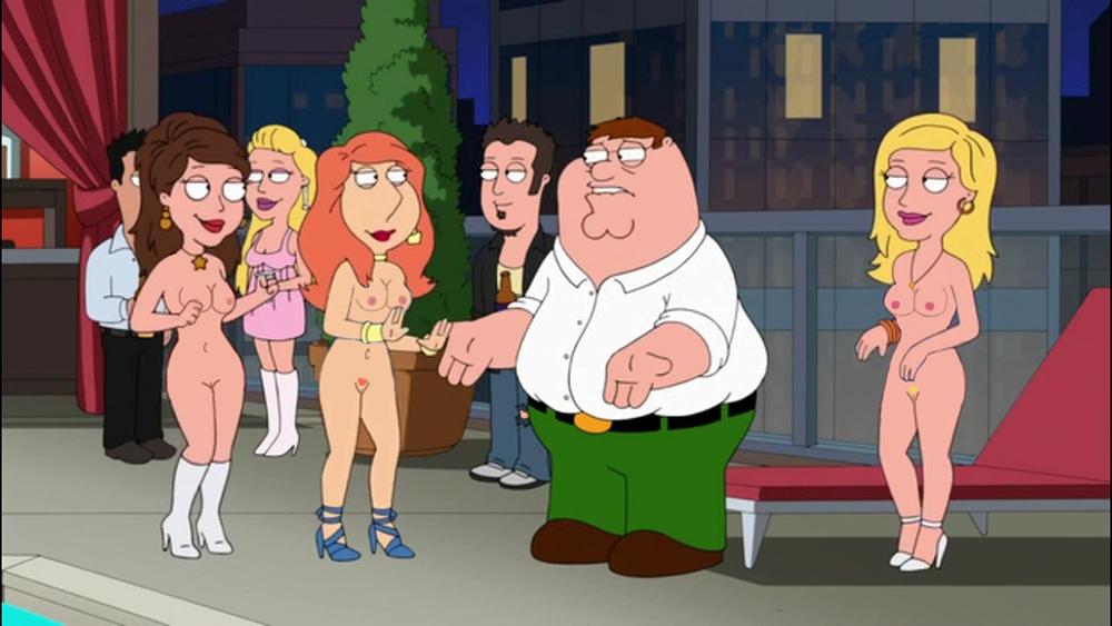 гриффинов питер стал где проституткой серия