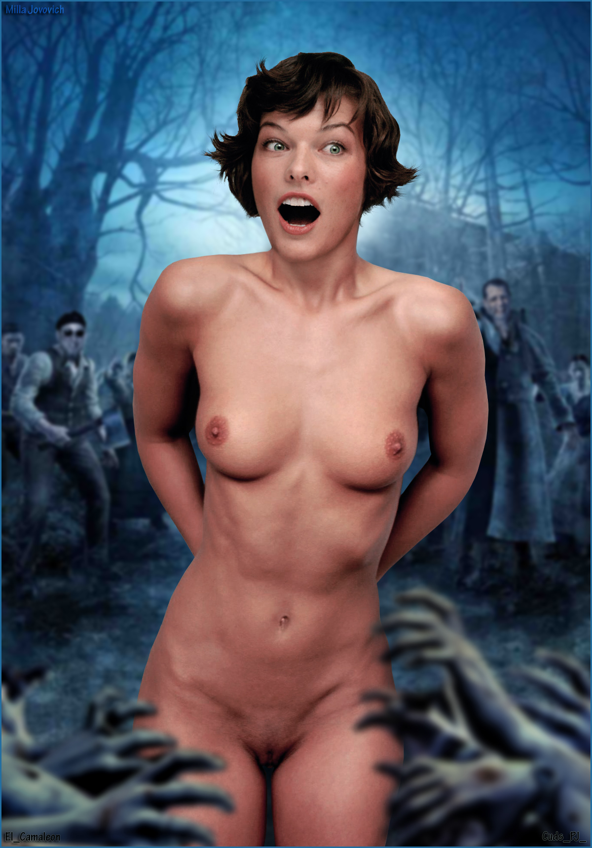 Milla jovovich naked sex #13