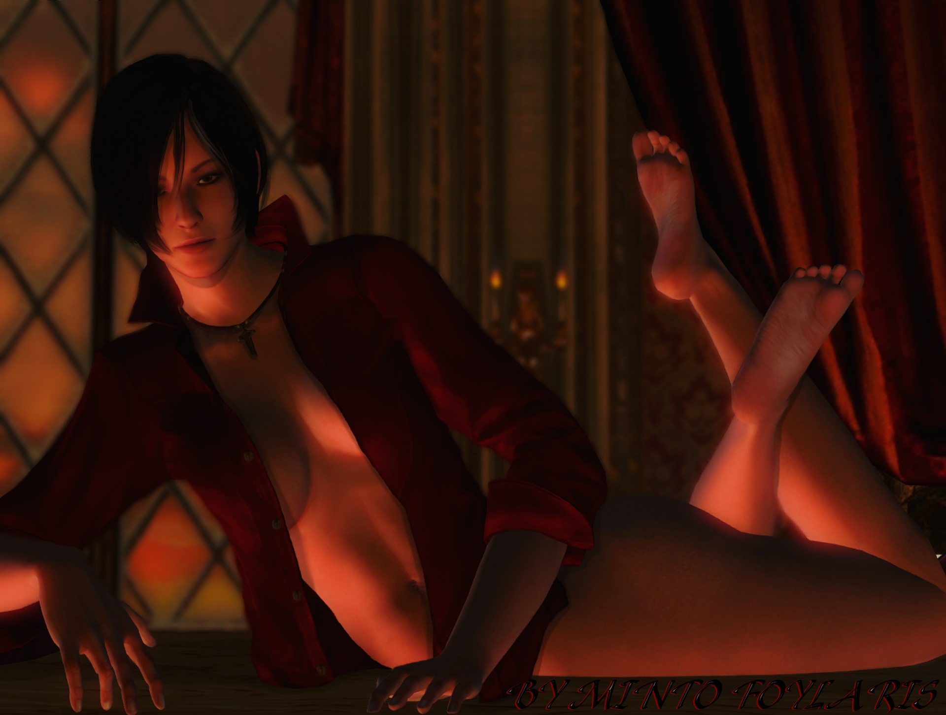 Nude resident evil fan art erotic scenes