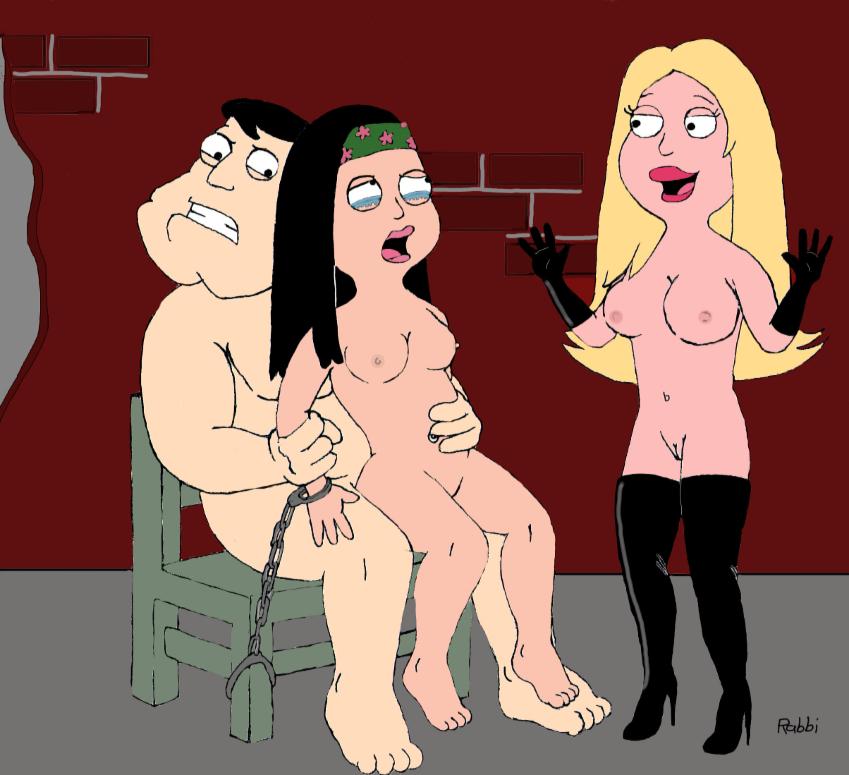 Girls bare butts