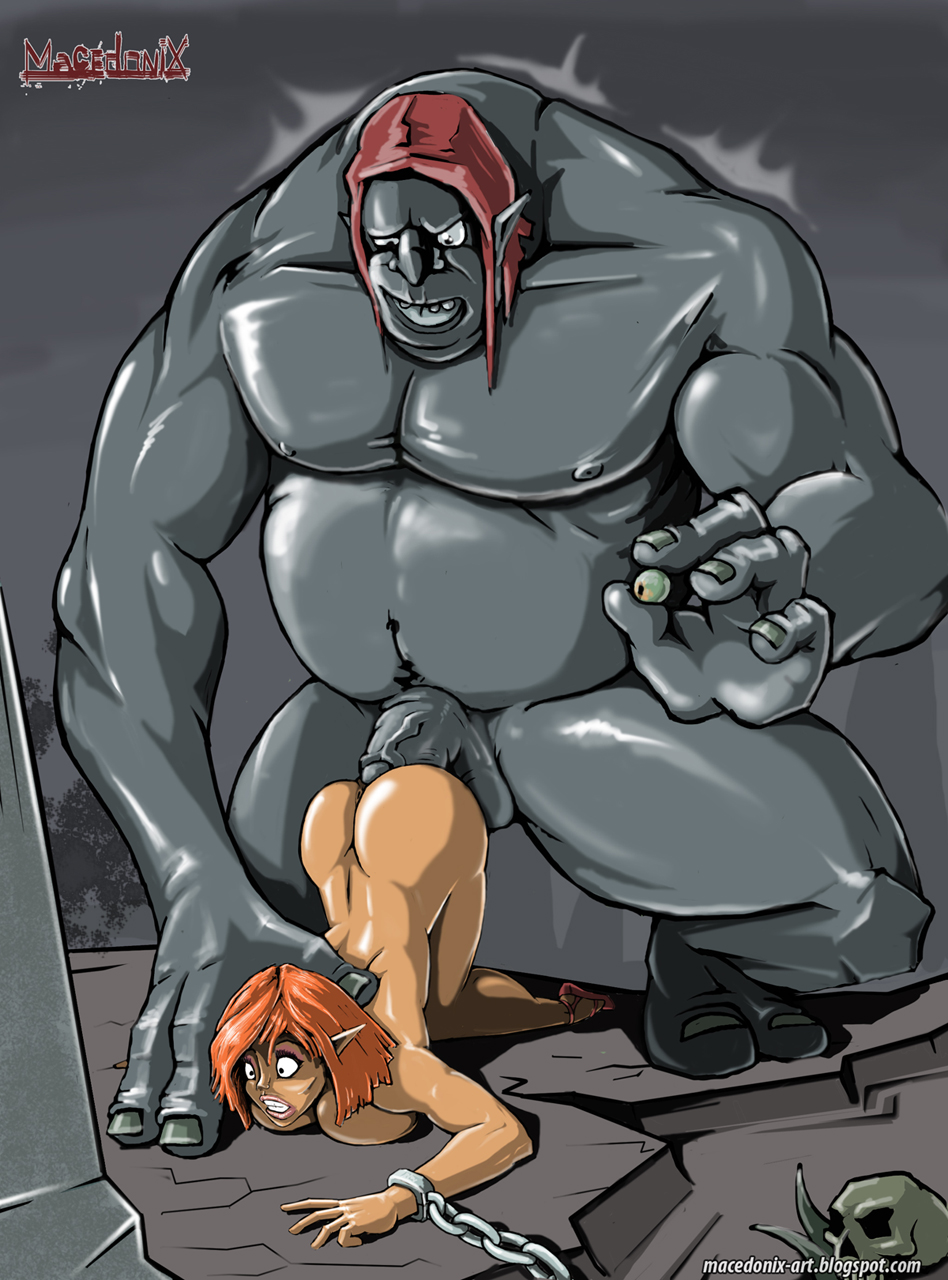 Elf fuck ogre erotic comics