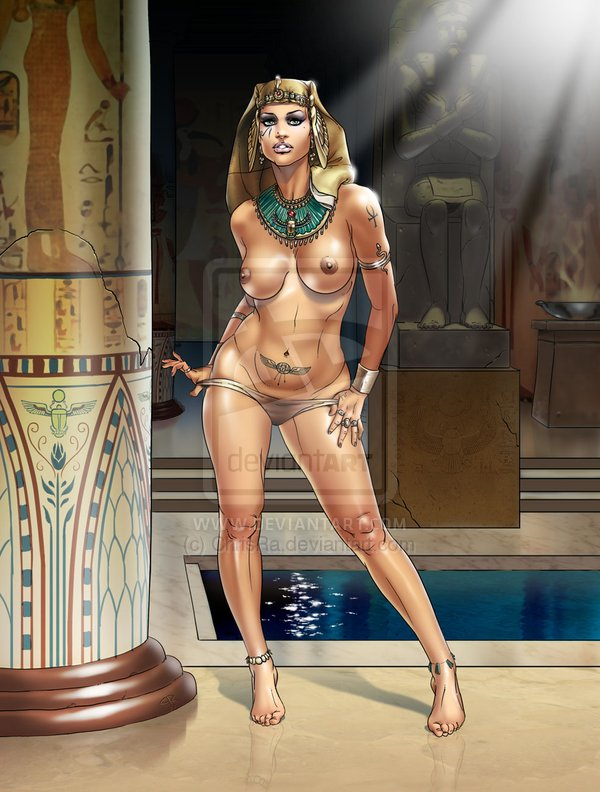 Sexy nude ancient egyptian girls