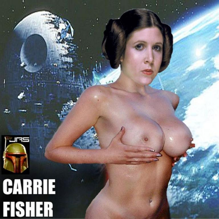 Кэрри фишер голая фото