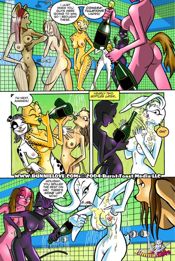 Банни лав порно комикс