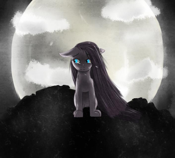 динамическая картинки с грустными пони гвоздика это