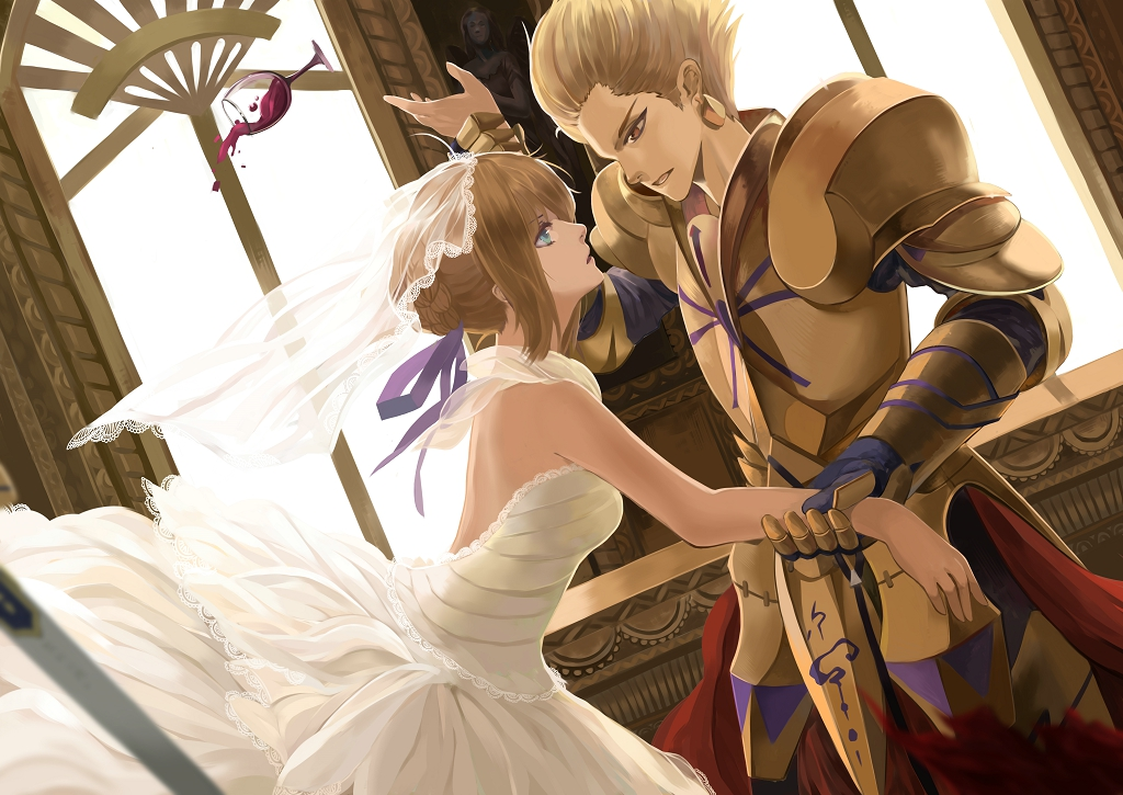 Armor wedding