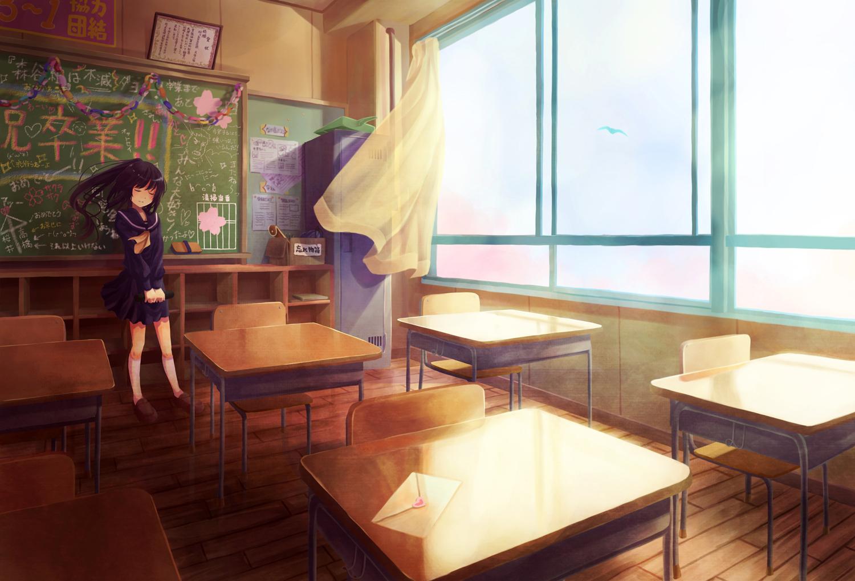 Картинки аниме классом