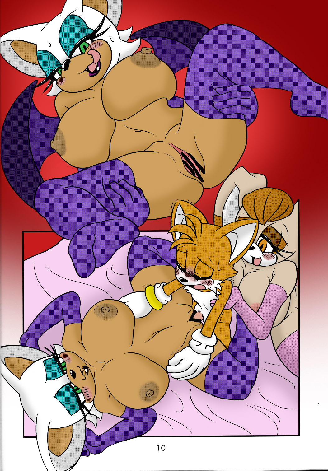 Tails and rouge nude porn movie