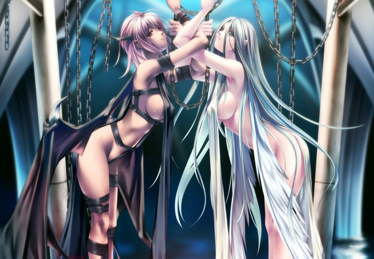 Angels and demons nude girls wallpaper hentai toons