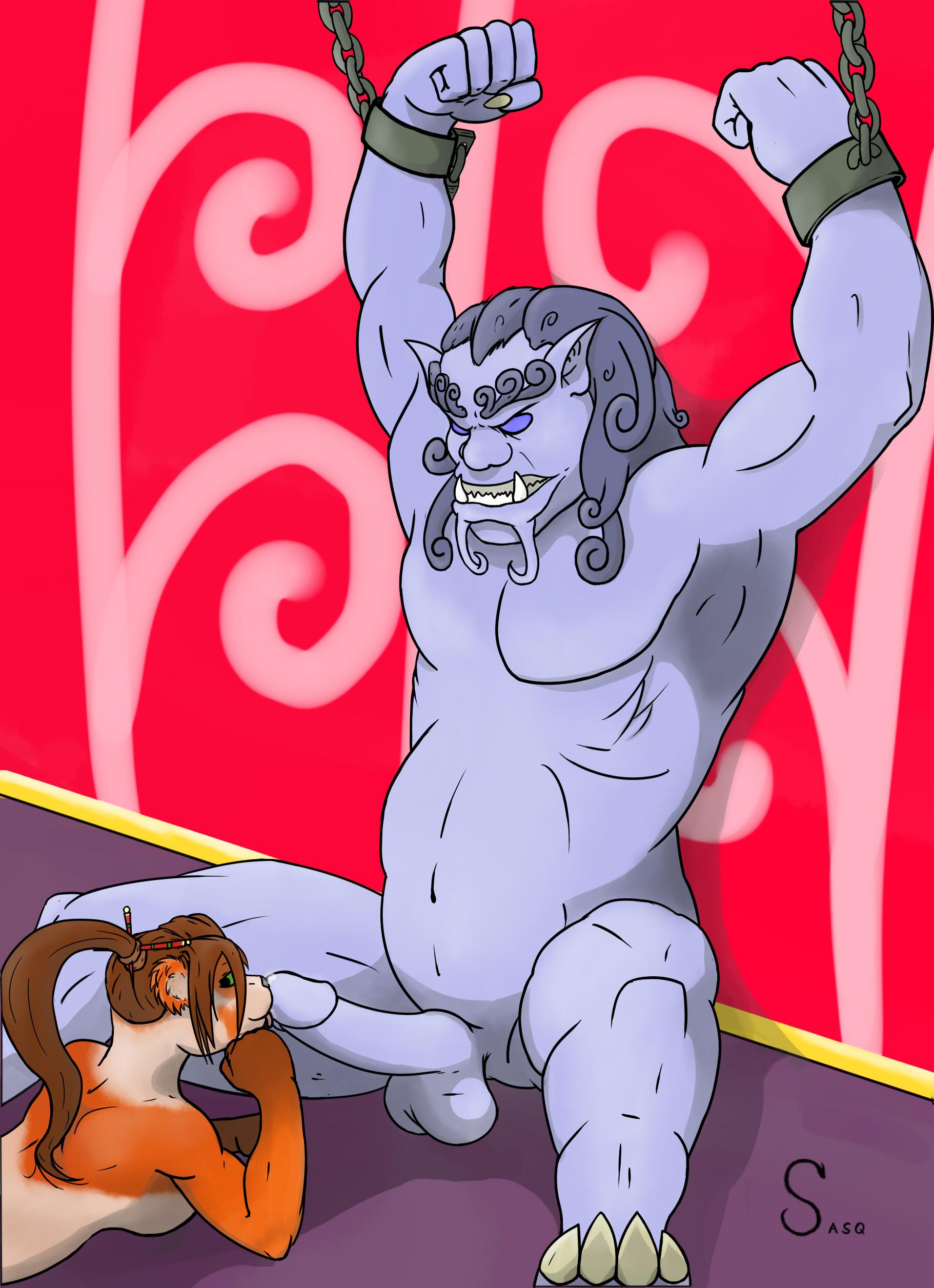 naked big round ass
