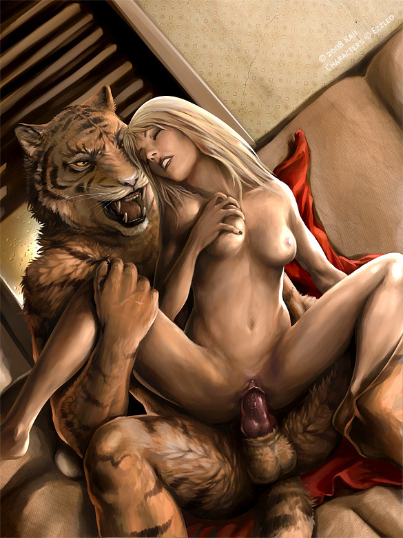 Hot women havin sex with tigers