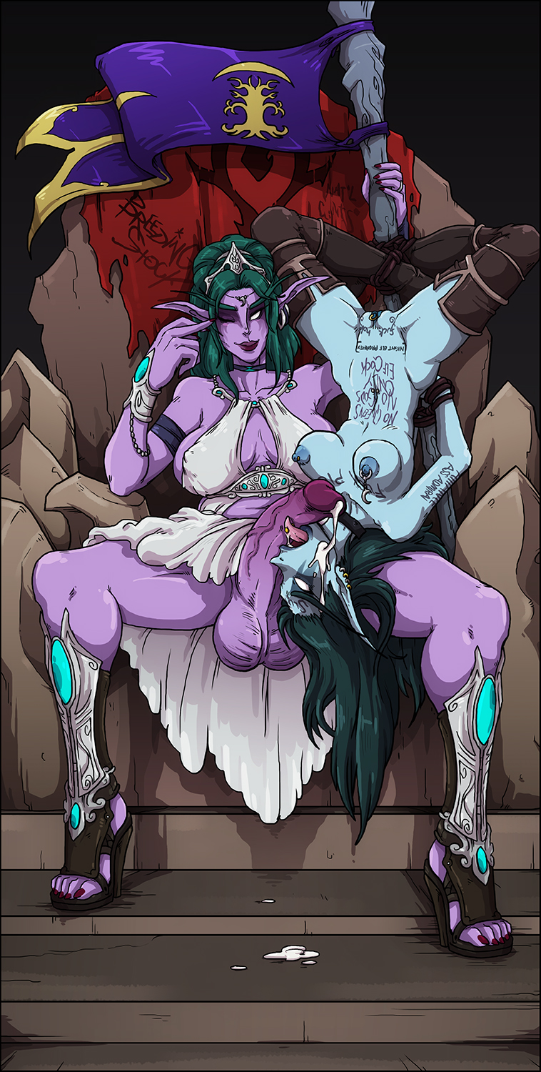 Sylvanas with tyrande nude adult pic