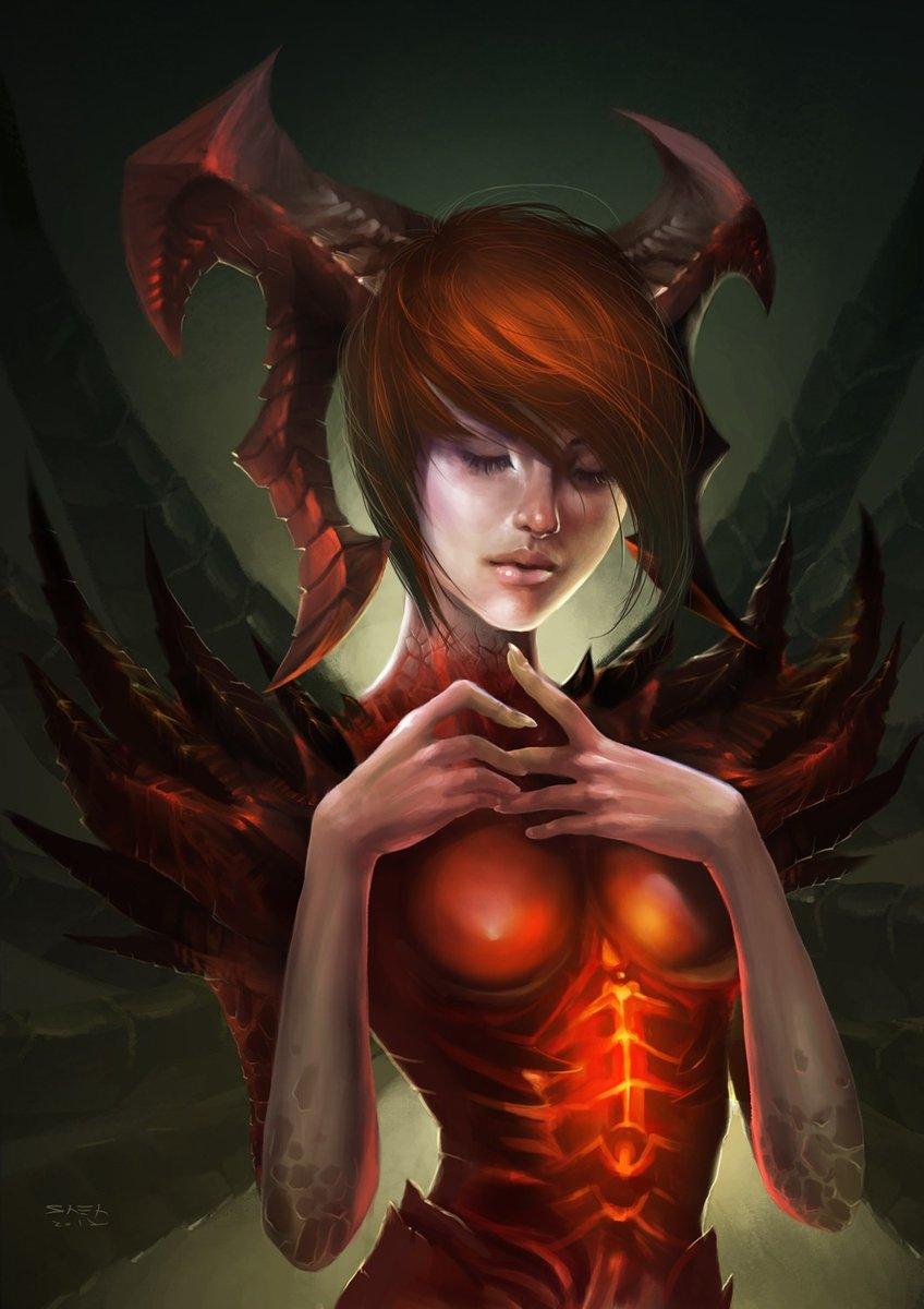 Diablo iii leah nude sexy image