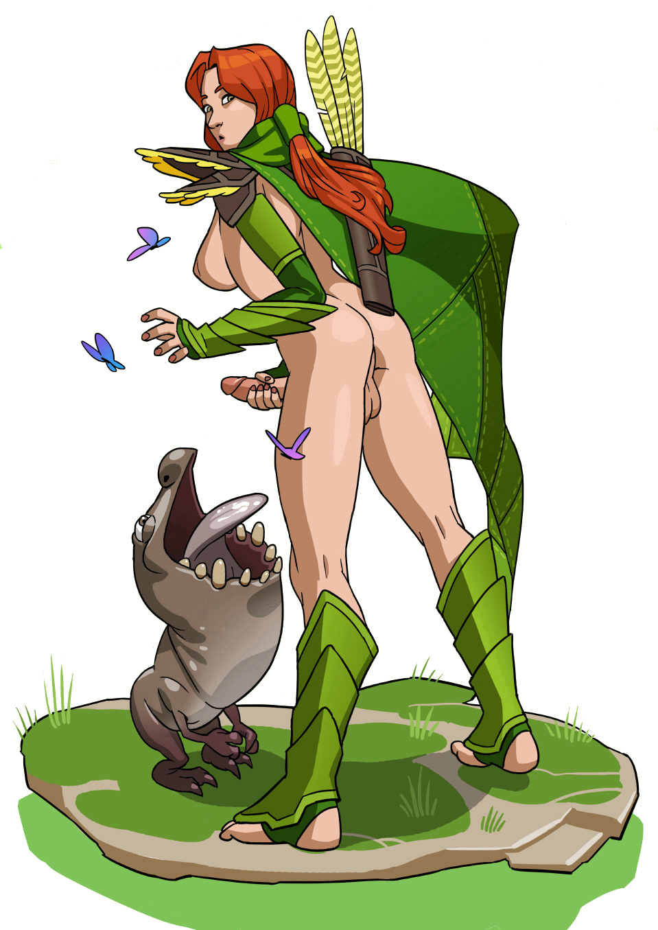 Dota 2 windrunner hentai erotic comic