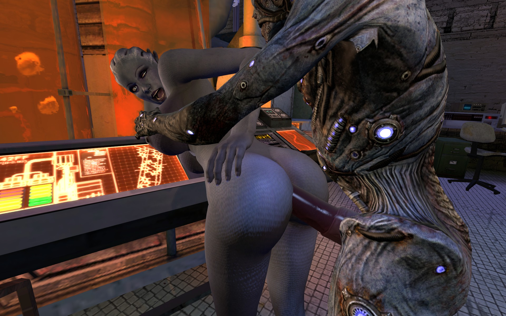 Mass effect sex villa mod naked naughty girlfriends