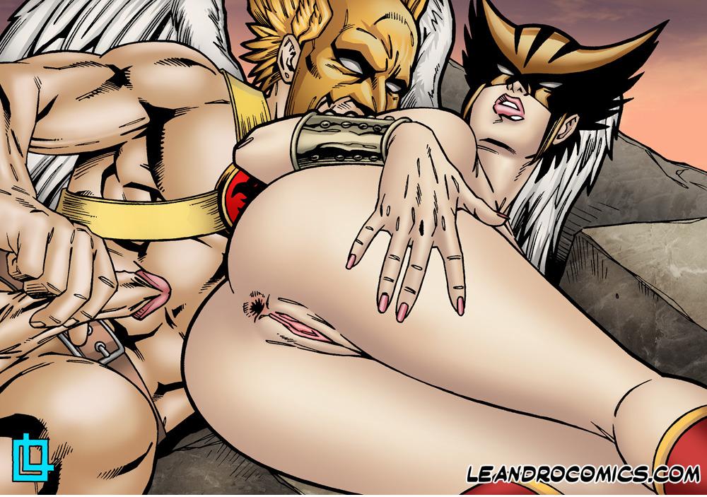 порно комиксы ди си