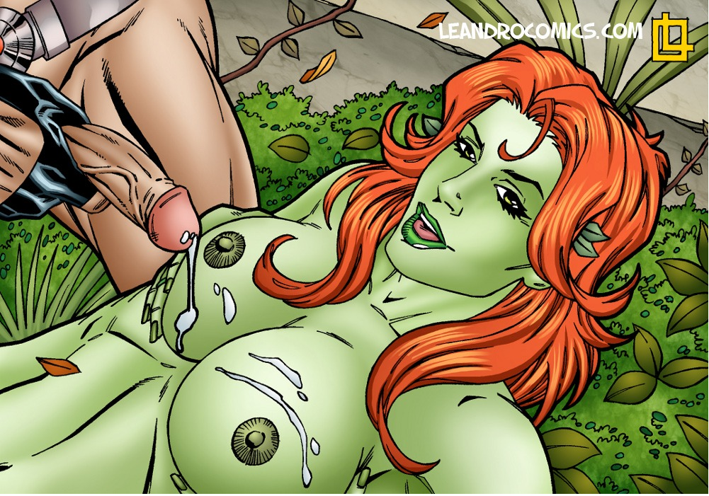 Poison ivy batman nude — img 8