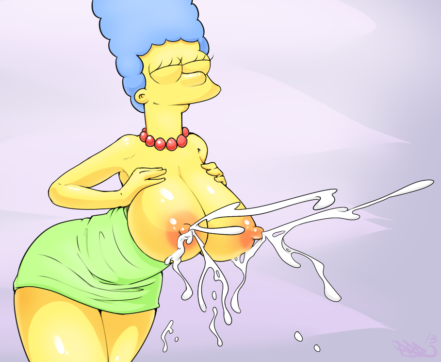 porn Simpsons milk