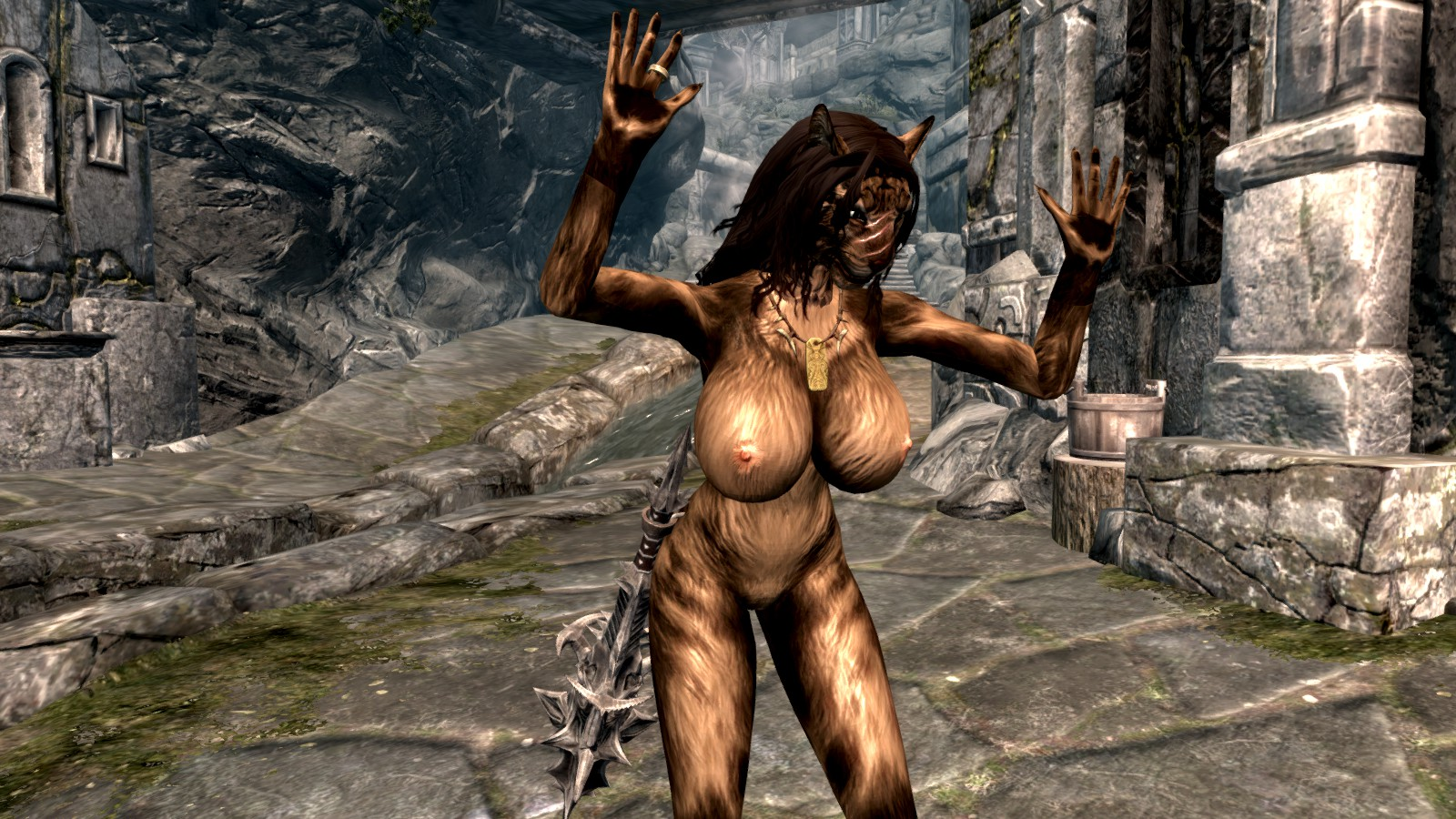 Lydia skyrim nude comics