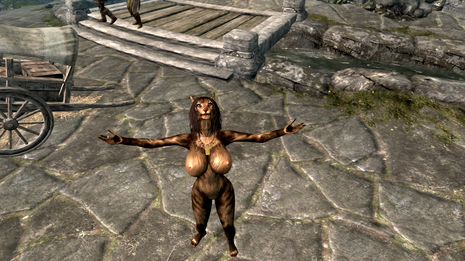 Skyrim khajiit rule 34 sexy young pussys