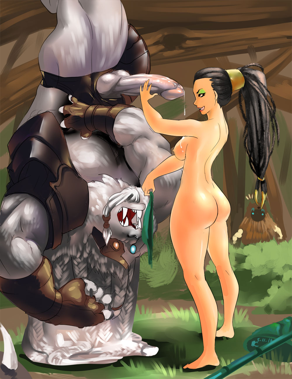 League of legends naked girls sexing porn movie