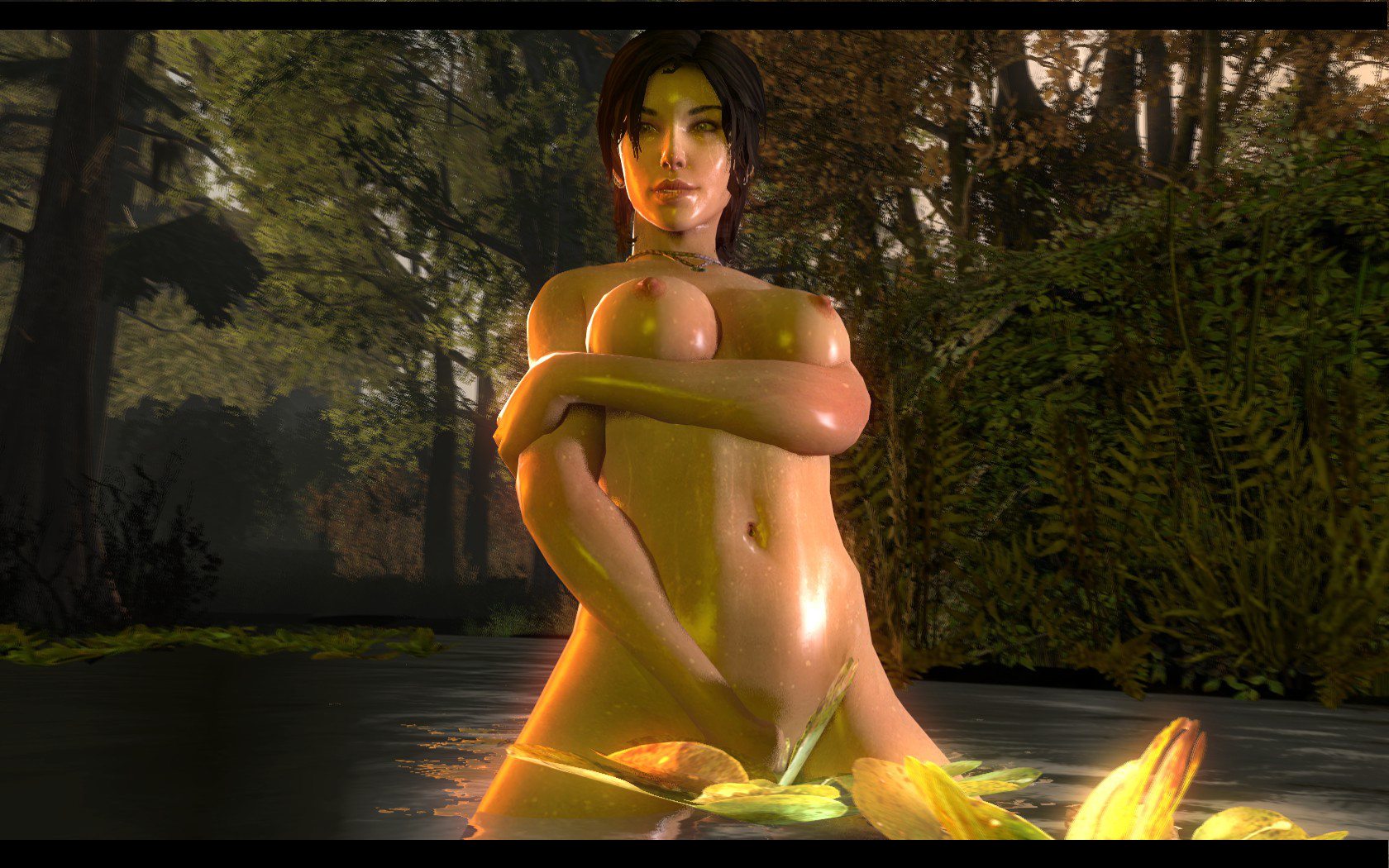 Naked lara croft hack adult booty