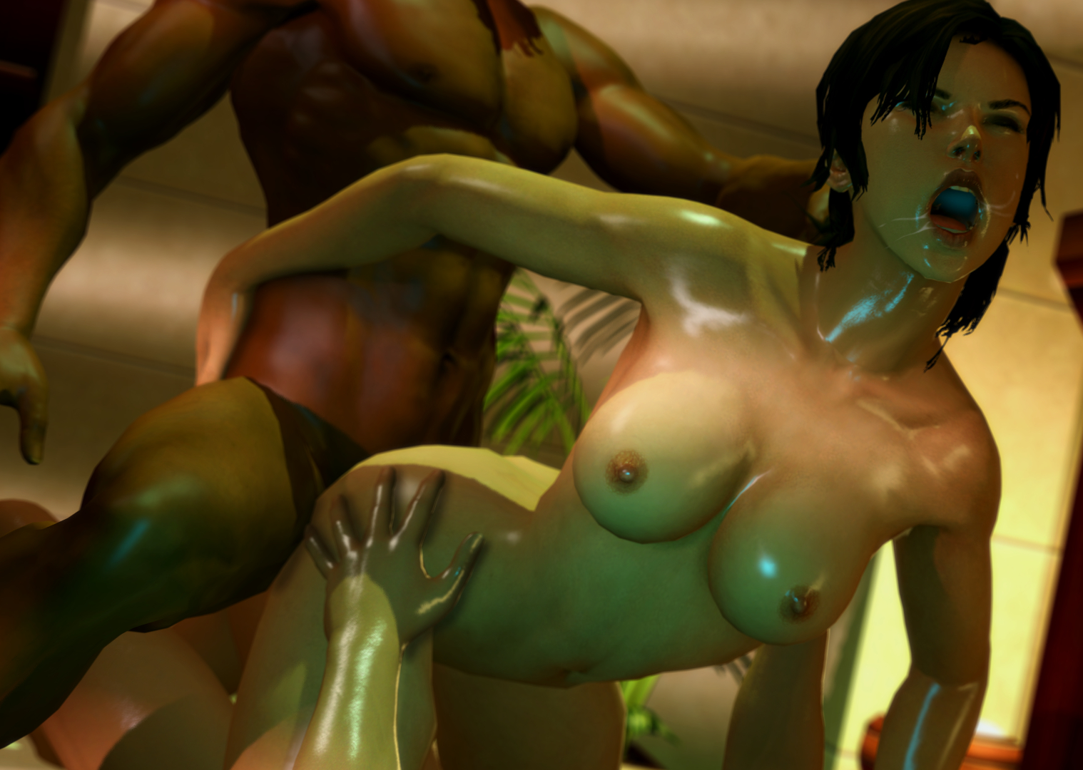 Sexy naked cartoon porn lara croft tomb  erotica pics