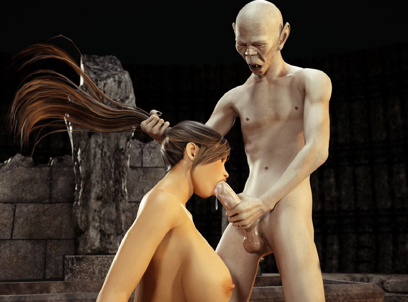 Blonde raider porn, rubbing tits fucking pussy
