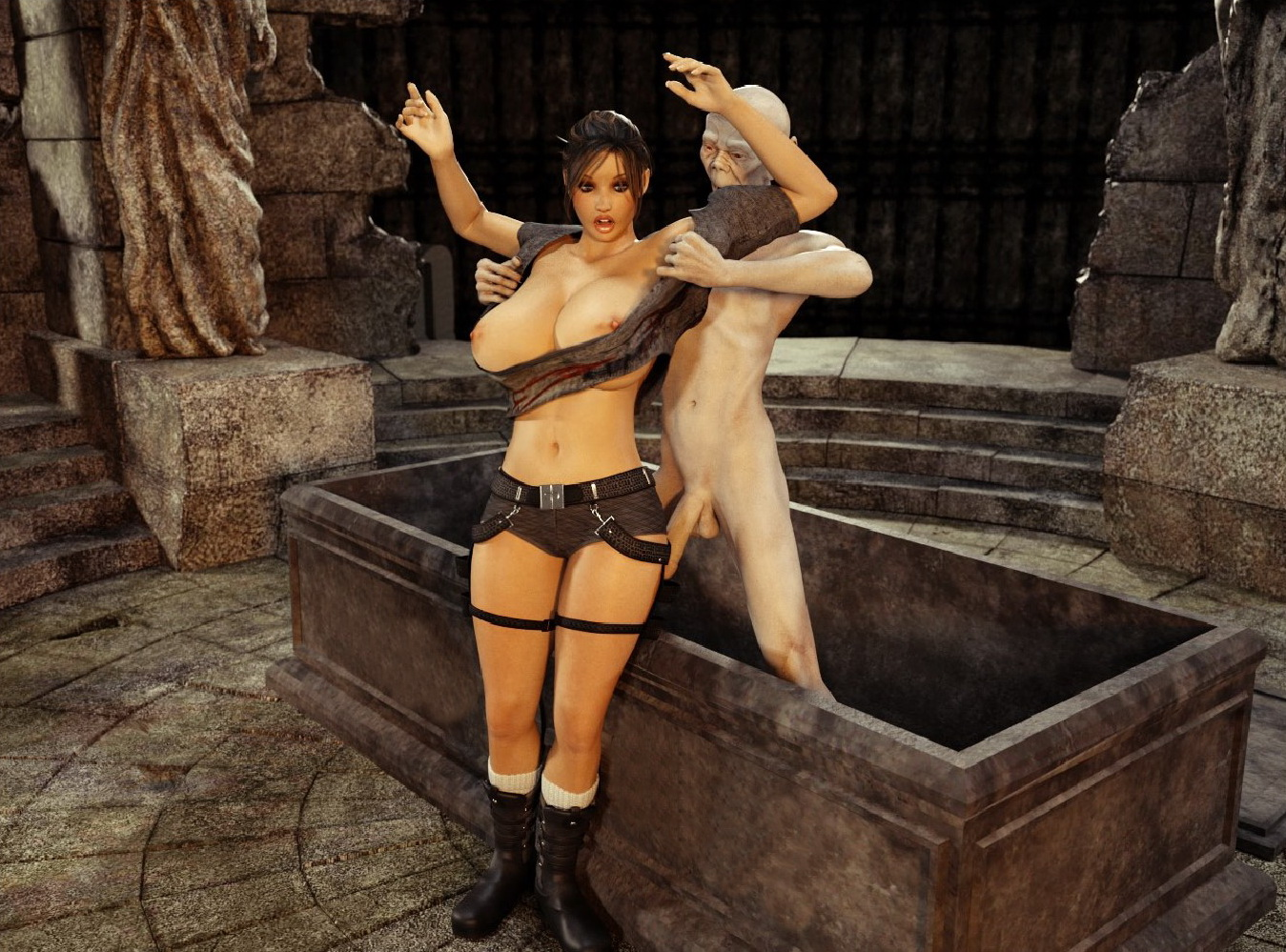 Tomb raider hentai 3d streaming nsfw scene