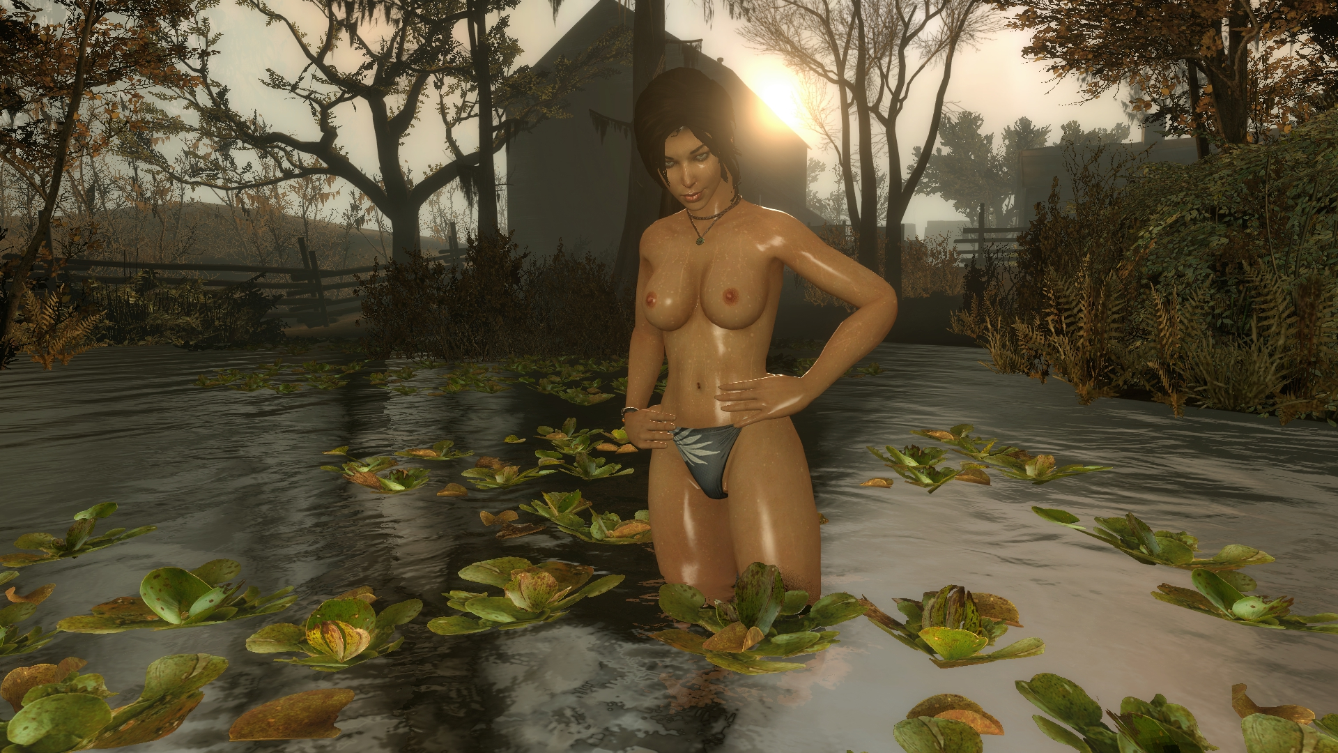 Tomb raider game character nude smut videos