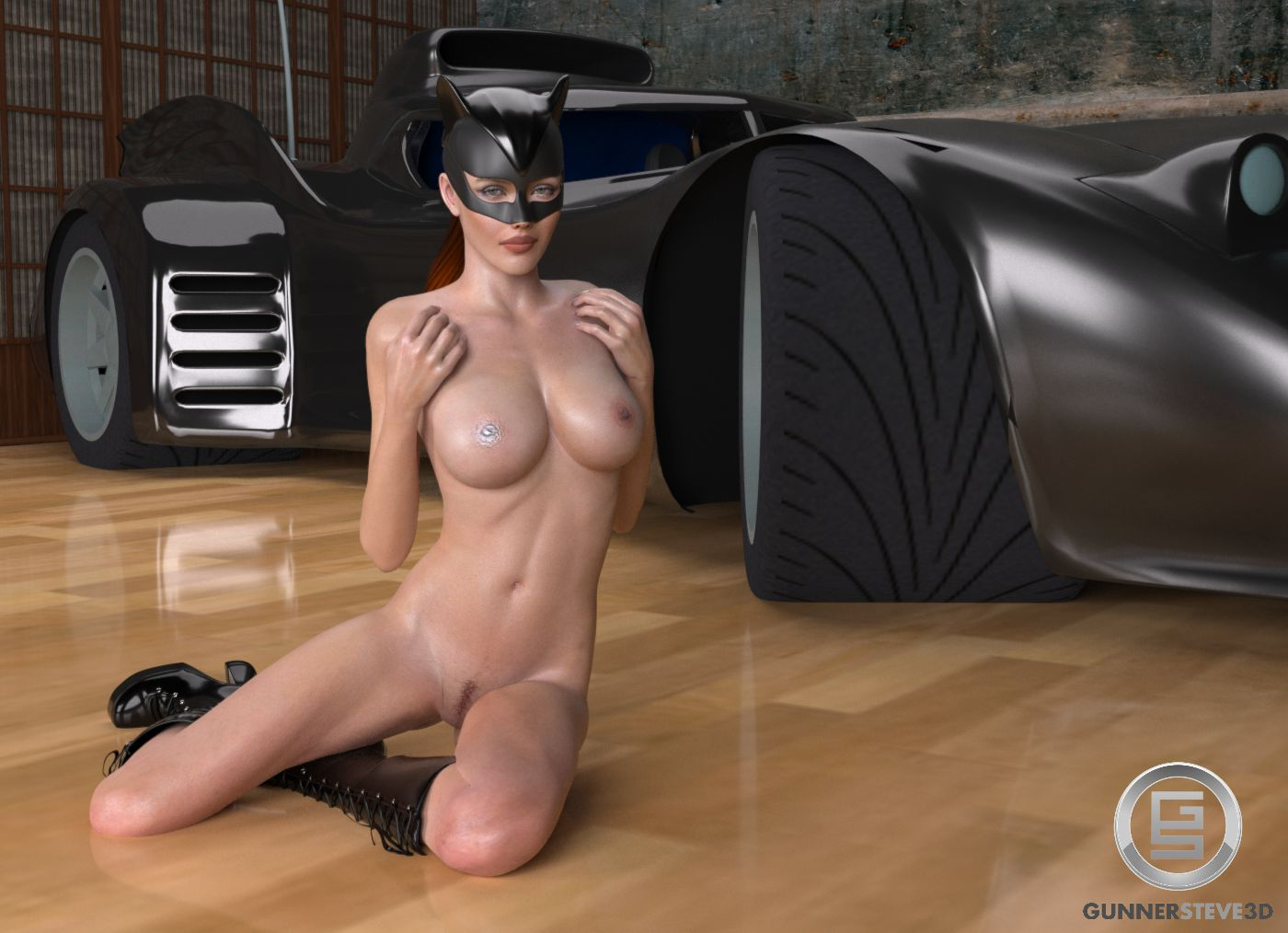 Catwoman nude sex 3d pics sexy photo