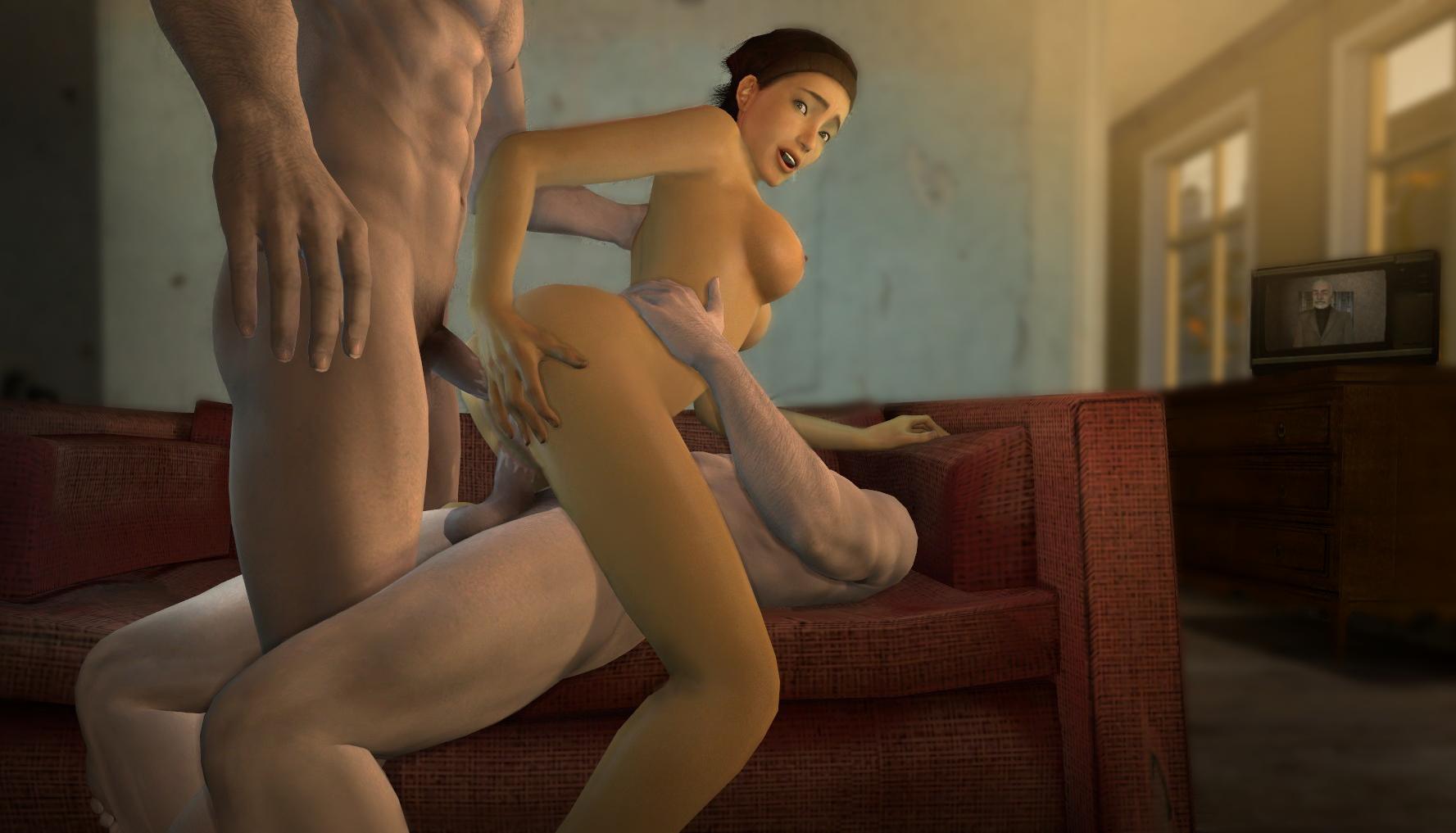 Alyx vance half life porn 3d hentai download