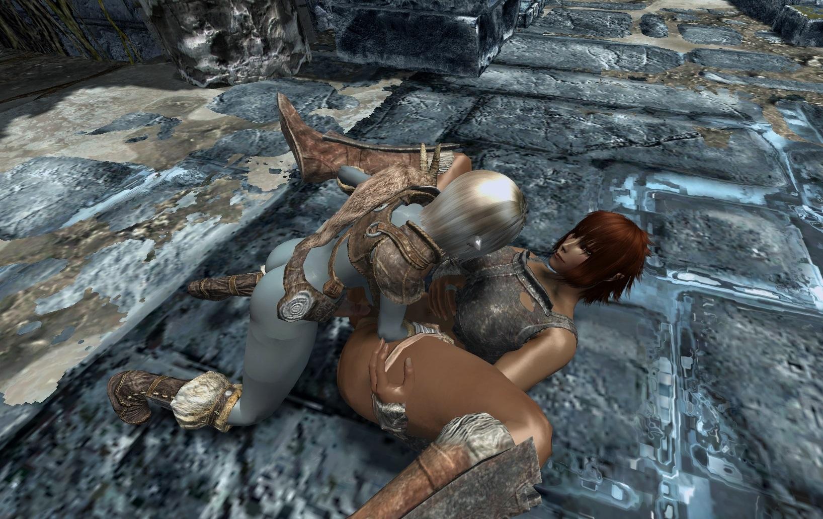 Sexy skyrim dark elf nude streaming
