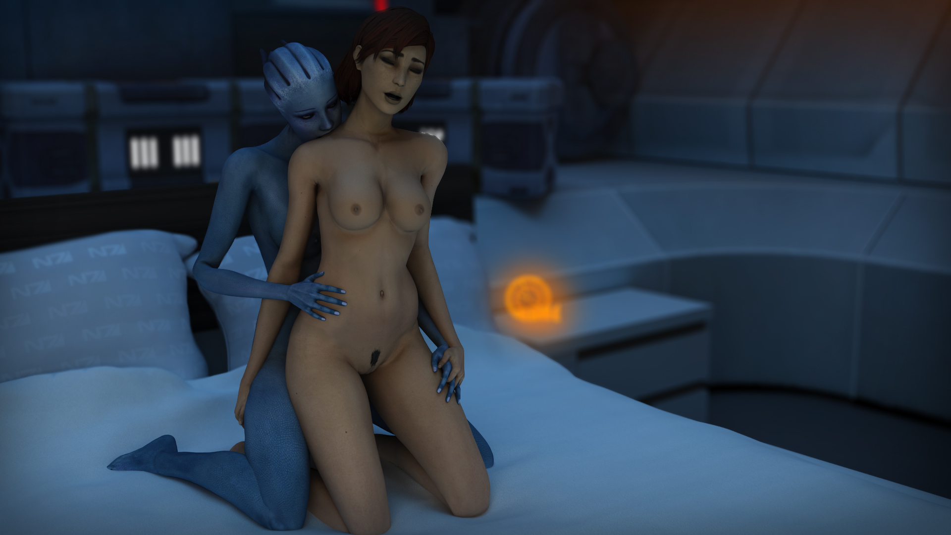 Liara nude patch erotic pic
