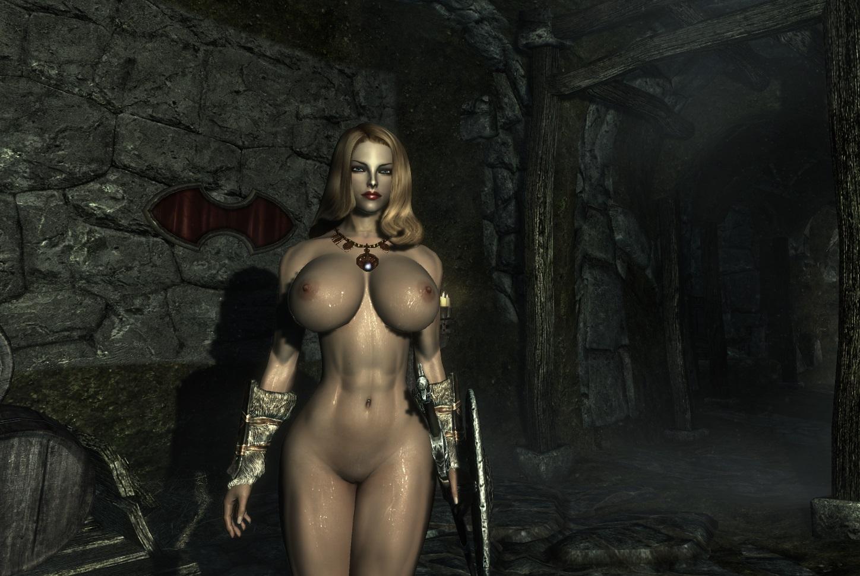 That the elder scrolls nude mods me, please