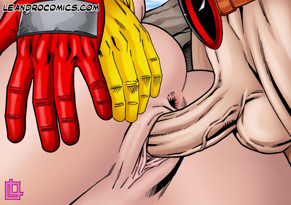 Порно комиксы про дэдпула 15275 фотография