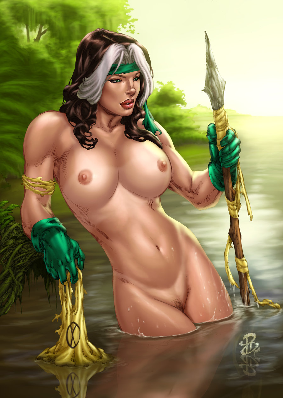 X men rogue naked pornos video