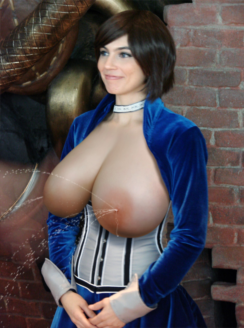 Elizabeth bioshock infinite girl naked