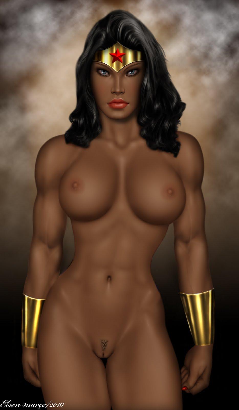 Wonder Woman Erotic