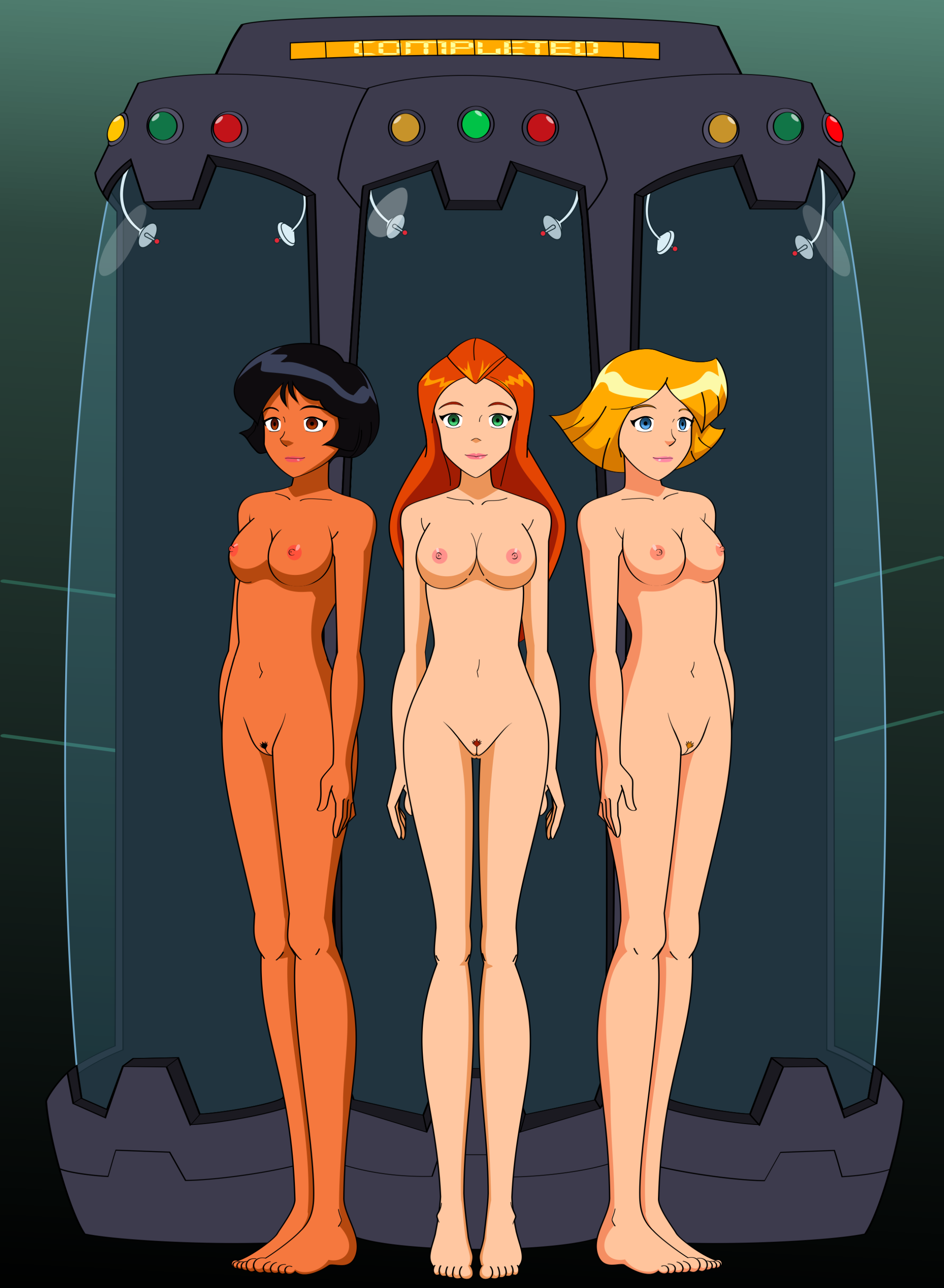 Sexy totally spies girls naked