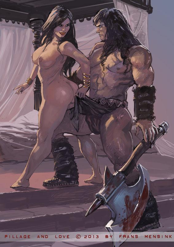 Conan The Barbarian Nude Softcore Scenes