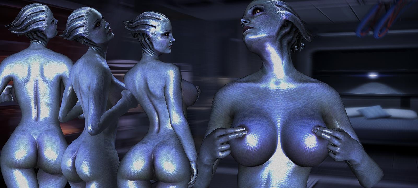 Dr eva mass effect 3 naked nsfw photo