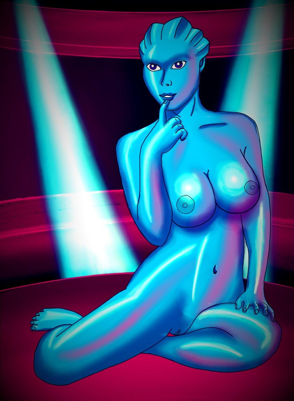 Mass effect nude dancer mod smut scene