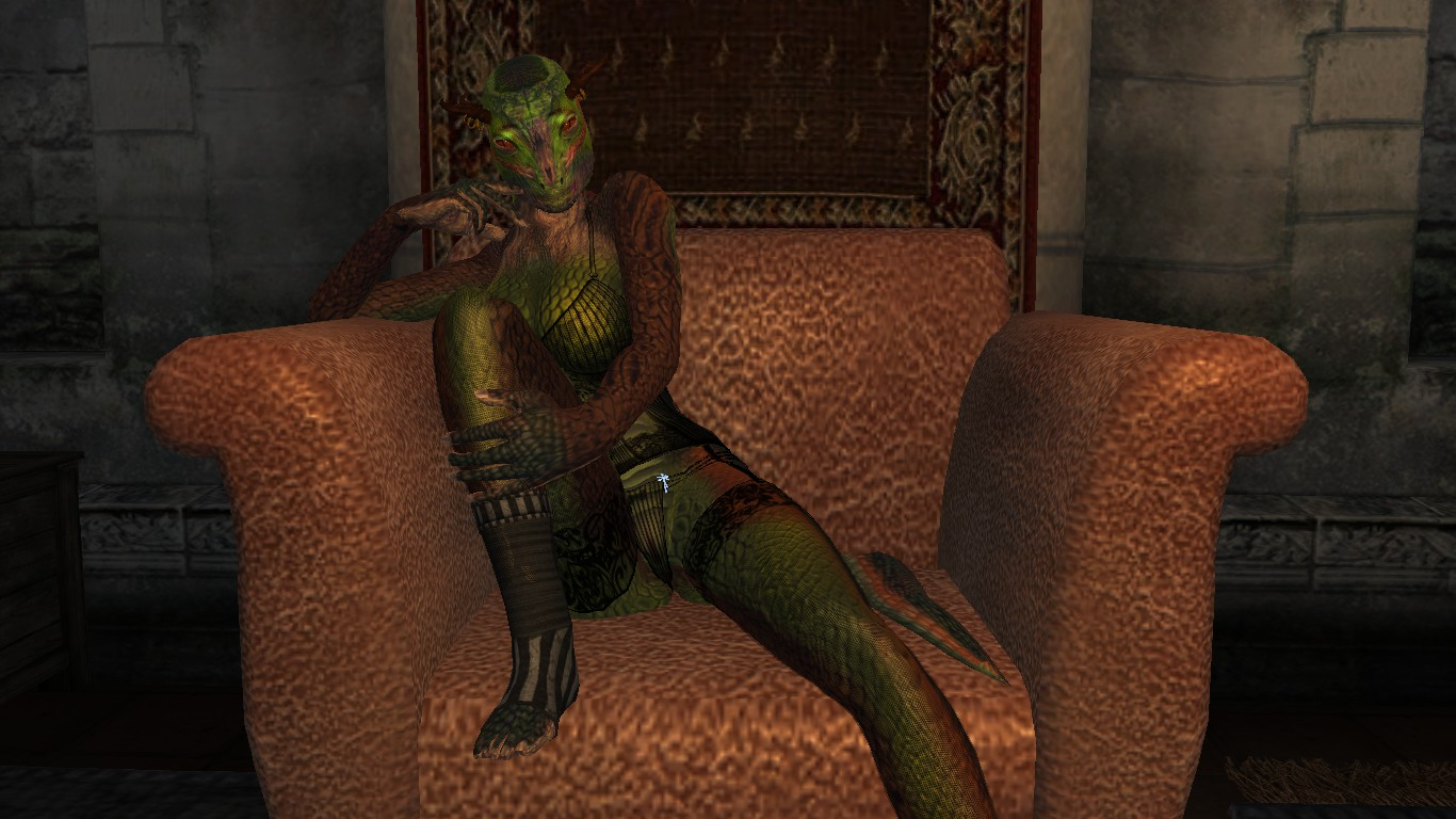 Oblivion nude female argonian video sexy pic
