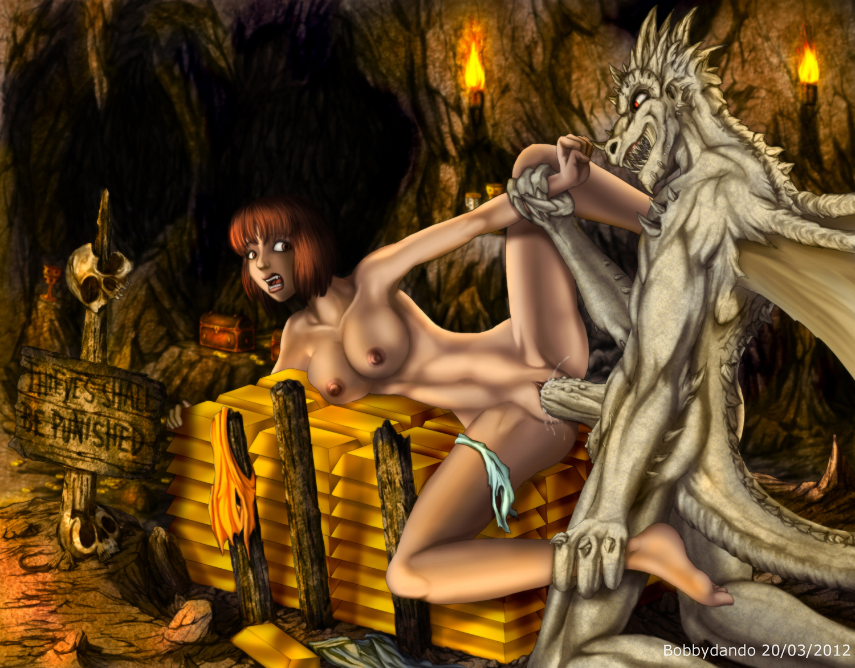 Dragon girl fantasy naked fucked